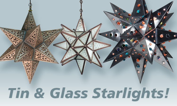 Tin & Glass Starlights